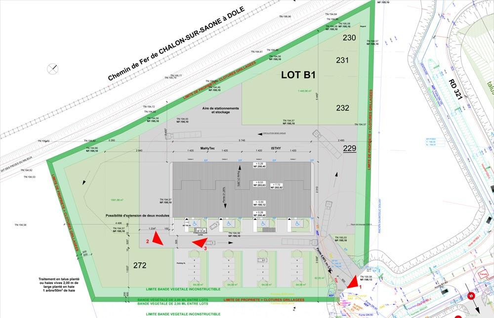 Cabinet serge roux architecte dplg for Plan dole 39
