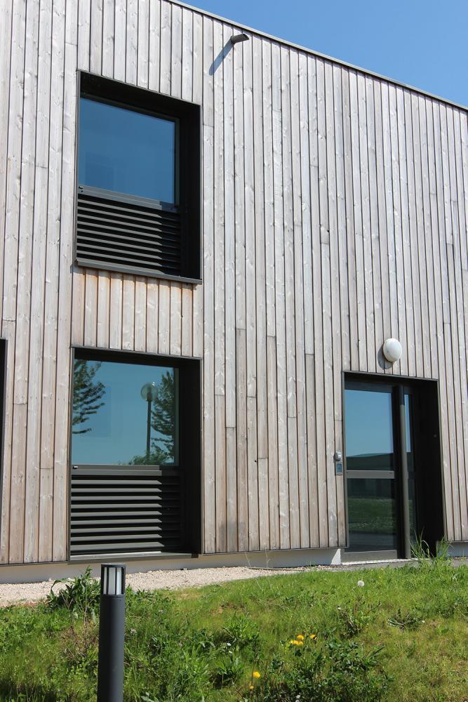 Cabinet serge roux architecte dplg for Maison meleze